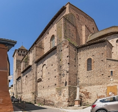 Abbaye Saint-Michel - English:   Eglise Saint-Pierre Gaillac in the Tarn department