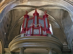 Abbaye Saint-Michel - English:   Organ of the Eglise Saint-Pierre Gaillac in the Tarn department