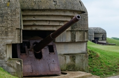 Batterie d'artillerie de Longues -  Batterie de Longues, Longues sur mer.