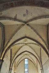 Ancien couvent des Cordeliers - Français:   Voûte de la sacristie de l\'ancien couvent des Cordeliers de Toulouse (XIIIème siècle).