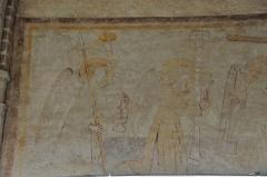 Ancien couvent des Cordeliers - Français:   Peinture murale à la sacristie de l\'ancien couvent des Cordeliers de Toulouse (XIIIème siècle).