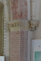 Ancien couvent des Cordeliers - Français:   Chapiteau de la sacristie (2e travée) - Couvent des Cordeliers (Toulouse)