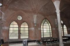 Ancien couvent des Cordeliers - Français:   Salle capitulaire de l\'ancien couvent des cordeliers de Toulouse (XIIIème siècle).