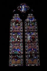 Eglise Saint-Bruno - Français:   Un vitrail de l\'église Saint-Bruno de Voiron
