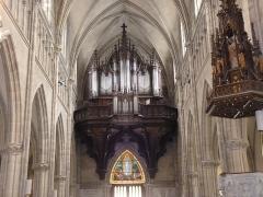 Eglise Saint-Amé - Français:   L\'orgue, Église Saint-Amé, Plombières-les-Bains (Vosges, Lorraine, France)