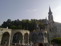 Domaine du sanctuaire de Lourdes - This building is inscrit au titre des Monuments Historiques. It is indexed in the Base Mérimée, a database of architectural heritage maintained by the French Ministry of Culture,under the reference PA00135471 .