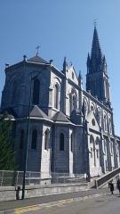 Domaine du sanctuaire de Lourdes -  Lourdes (65), Basilique de l'Immaculée-Conception.