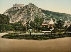 Batterie d'artillerie du Roule - English:   the mountain and Fort du Roule, Cherbourg, France