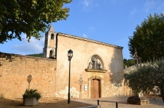 Chapelle Saint-Pierre-aux-Liens, située à Derboux - Chapelle des pénitents de Mondragon