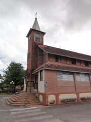 Eglise paroissiale dédiée à Saint-Laurent -  Église Saint-Laurent, Saint-Laurent-du-Maroni