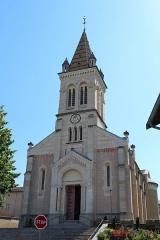 Cuivrerie de Cerdon - Église Notre-Dame-de-l'Assomption de Jassans-Riottier.