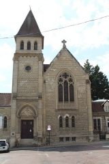 Temple protestant dit église évangélique - Français:   Église réformée des États-Unis à Château-Thierry.