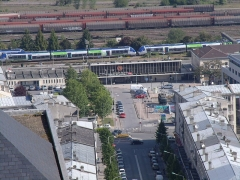 Rotonde et halle-atelier ferroviaires -  GEDSC DIGITAL CAMERA