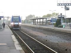 Rotonde et halle-atelier ferroviaires - Nederlands: Treinen in Laon