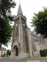 Eglise Saint-Martin - English:   Bichancourt (Aisne) église