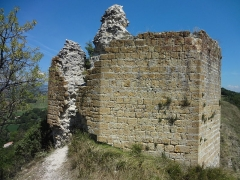 Château -       This file was uploaded  with Commonist.  Donjon des comtes de Forcalquier