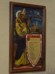 Eglise paroissiale Notre-Dame de l'Assomption -  Ex-voto des prisonniers de la Seconde Guerre mondiale originaires de la vallée de Reillanne, à saint Denis.