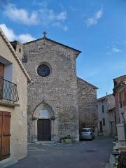 Eglise Saint-Georges -  église de Limans (04)
