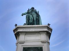 Monument au Maréchal Masséna -  Square Leclerc - Nice
