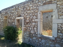 Vestiges de l'ancienne fonderie - Français:   La Voulte-sur-Rhône - ancienne fonderie