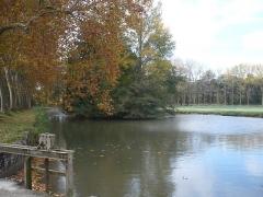 Canal du Midi - Deutsch: Ehemaliges Speicherbecken Bassin de Naurouze am Canal du Midi