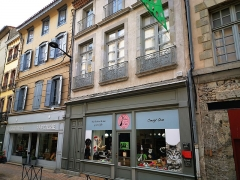 Immeuble - English: Carcassonne, immeuble, 49, 51 rue de Verdun.