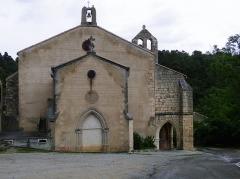Église Notre-Dame du Cros - English: Caunes-Minervois, chapelle Notre-Dame-du-Cros de Caunes-Minervois.