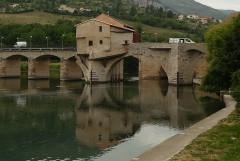 Moulin du pont vieux - English: Millau old bridge