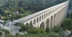 Aqueduc de Roquefavour (également sur commune d'Aix-en-Provence) -  Aquädukt von Roquefavour/Provence