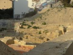 Carrière antique de la Corderie - Français:   site corderie zone exploitée durant la période  romaine