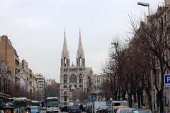 Eglise Saint-Vincent-de-Paul-Les Réformés -  France - Marseille