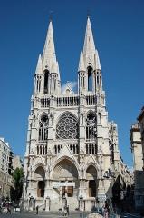 Eglise Saint-Vincent-de-Paul-Les Réformés - English: Église des Réformés in Marseille.