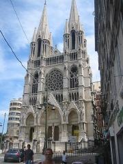 Eglise Saint-Vincent-de-Paul-Les Réformés -  The Église des Réformés church in Marseille, France.  Source: Jaakko Sakari Reinikainen (ulayiti)