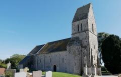 Eglise Saint-Clément - Français:   Osmanville (Normandie, France). L\'église Saint-Clément de Saint-Clément-sur-le-Vey.
