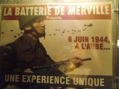 Batterie d'artillerie de Merville -  l'ingresso della batteria