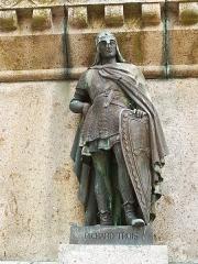 Statue de Guillaume le Conquérant - Français: Richard III, Duc de Normandie