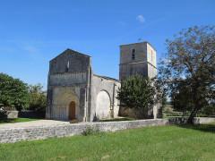 Ancienne église d'Usseau - Deutsch: Die ehemalige Pfarrkirche von Usseau, Gemeinde Marignac