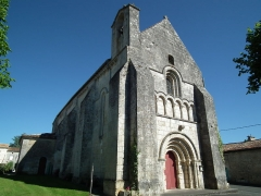 Eglise Saint-Simon - Français:   L\'église de Saint-Simon-de-Bordes