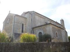 Eglise Saint-Simon - English:   Saint-Simon-de-Bordes, the village church seen from northeast
