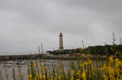 Phare du Port -  Phare et port de St Georges de Didonne (France - Charente Maritime)