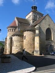 Château de la Brosse -  Eglise Notre Dame dite du Chapitre.JPG