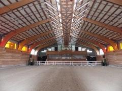 Haras national - Français:   Manège couvert du haras national de Lamballe