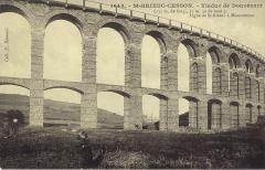 Viaduc de Douvenant - Français:   Carte postale ancienne éditée par   :