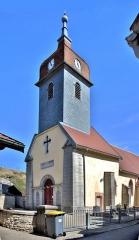 Eglise - Français:   Eglise Saint-Point, à Saint-Point-Lac