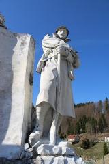Monument aux morts - Français:   Détail du soldat