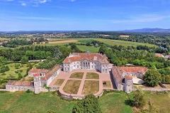 Château de Moncley - Français:   Le château de Moncley (vue aérienne)