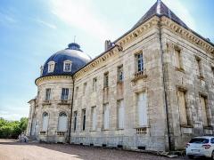 Château de Moncley - Français:   Façade nord du château