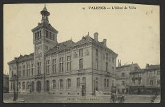 Hôtel de ville - English: CA 1913