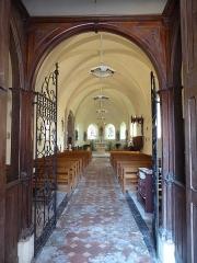 Eglise Saint-Martin - Français:   entrée de l\'église Saint-Martin, Mézières-en-Drouais, Eure-et-Loir, France.