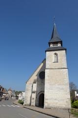 Eglise Saint-Martin - Français:   façade ouest de l\'église Saint-Martin, Mézières-en-Drouais, Eure-et-Loir, France.